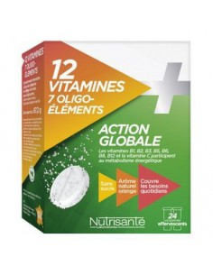 Action Globale 12 Vitamines...
