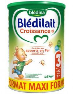 Blédilait Croissance + 3ème...