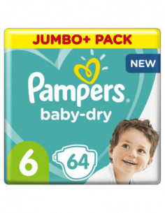 Pampers Couches Baby-dry...