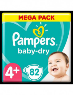 Pampers Baby-Dry Taille 4+...